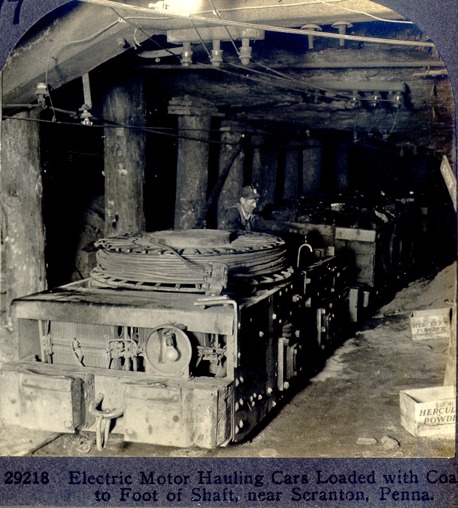 Historical coal mining pictures for History of the electric motor